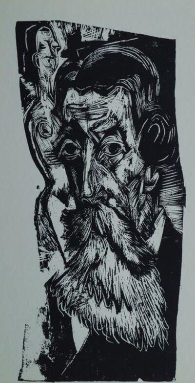 Ernst Ludwig Kirchner, 'Portrait of Ludwig Schames', 1918