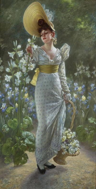 Karl Gampenrieder, 'Princess Elvira of Bavaria', ca. 1900