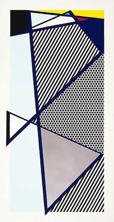 Roy Lichtenstein, 'Imperfect Print for B.A.M', 1987