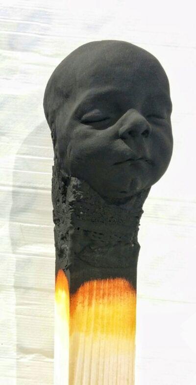 Wolfgang Stiller, 'BLACK BABY MATCHSTICK '