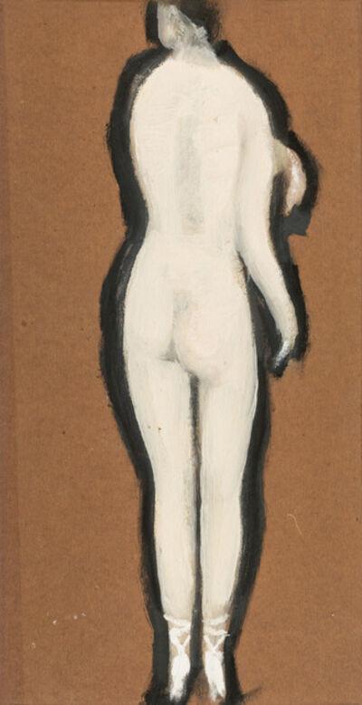 Alfons Walde, 'Standing Nude', ca. 1925