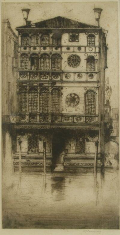 Sir David Young Cameron, 'Palazzo Dario, Venice', ca. 1900