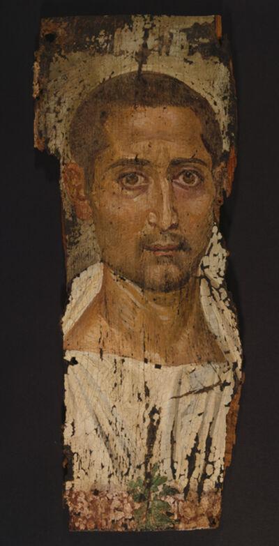 'Mummy Portrait of a Bearded Man', ca. 225 -250