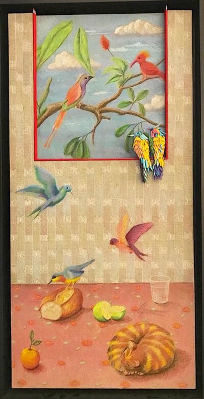 Federico Uribe, 'Birds in theWindow', 2017