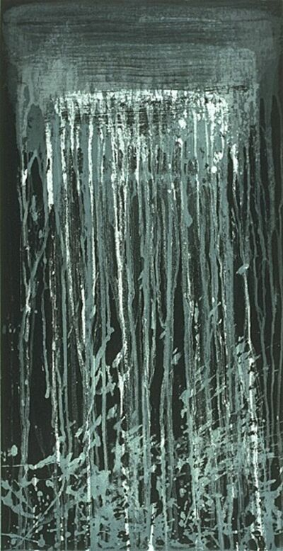 Pat Steir, 'Blue and White Waterfall', 1993