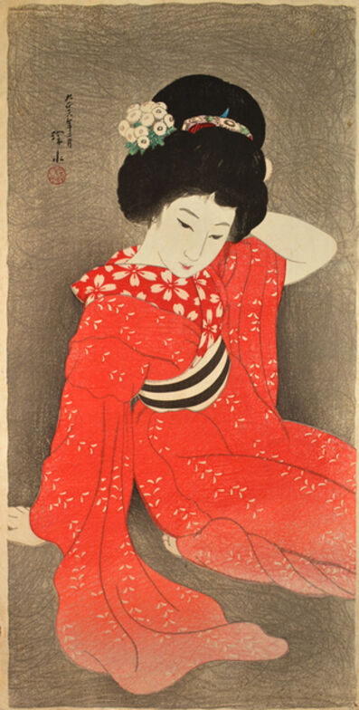 Itō Shinsui, 'In Spring', 1917