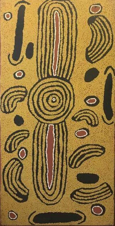 Ningura Napurrula, 'Untitled Rock Hole Sites', 2007