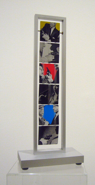 John Baldessari, 'Jacob´s Ladder: Love (Yellow, Red, Blue and Black and White); War (Orange, Violet, Green and Black and White)', 2004