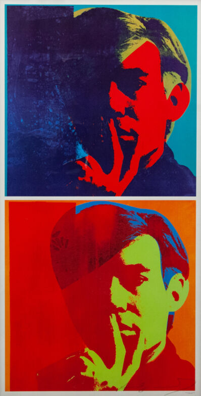 Andy Warhol, 'Double Self Portrait', 1978