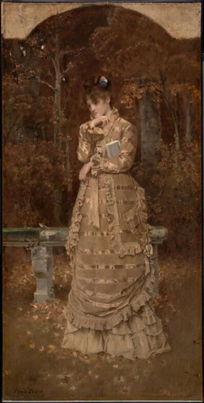 Alfred Stevens, 'Fall', 1877