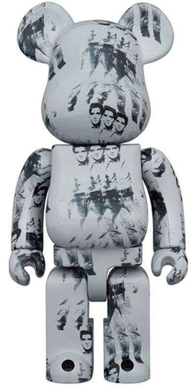 Andy Warhol, 'Warhol Elvis Be@rbrick 1000% (Andy Warhol Bearbrick)', 2021