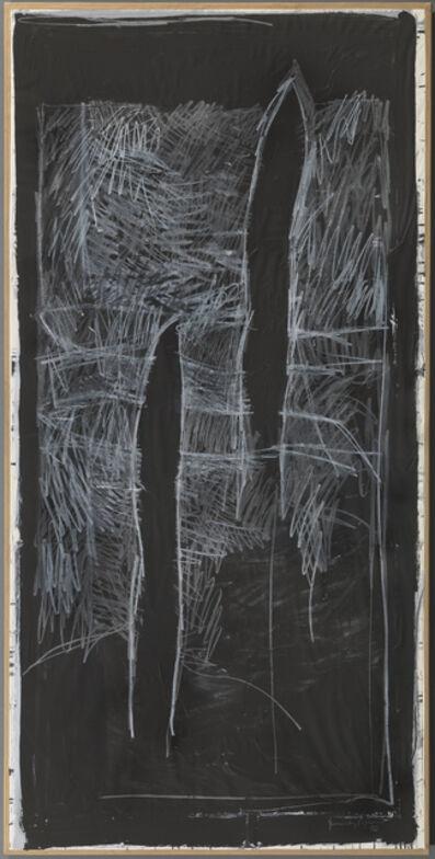 Joan Hernández Pijuan, 'Paisatge amb xiprers', 1986