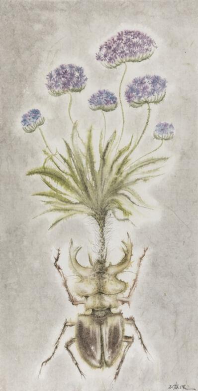 Shi Rongqiang, 'Winter-Insect, Summer-Herb No.8', 2015