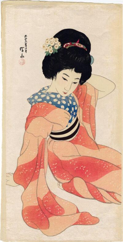 Itō Shinsui, 'Spring (Haru)', 1917
