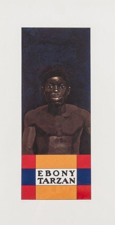 Peter Blake, 'Ebony Tarzan', 1972