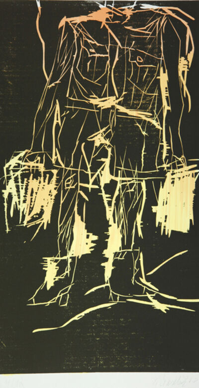 Georg Baselitz, ''65 (Remix)', 2008
