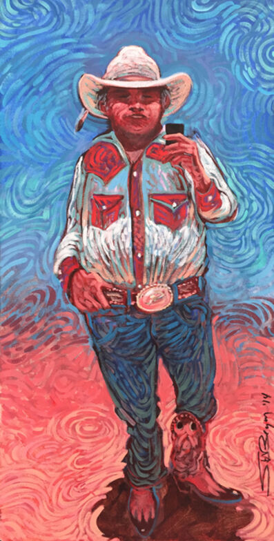 Shonto Begay, '30 Year-Old Trophy Buckle', 2014