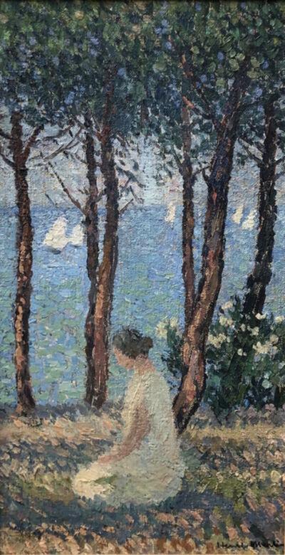 Henri Martin, 'Femme dans le parc', Unknown