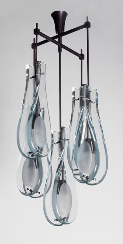 Max Ingrand, 'Rare 5-Light Hanging Fixture', circa. 1967