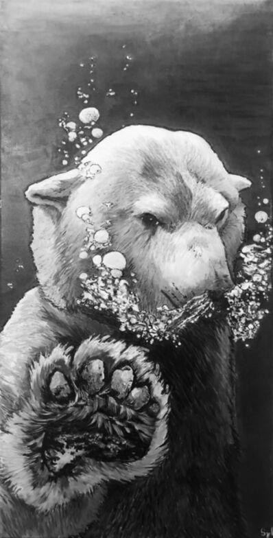 Sylvie Lescan, 'L'ours à bulles', 2018