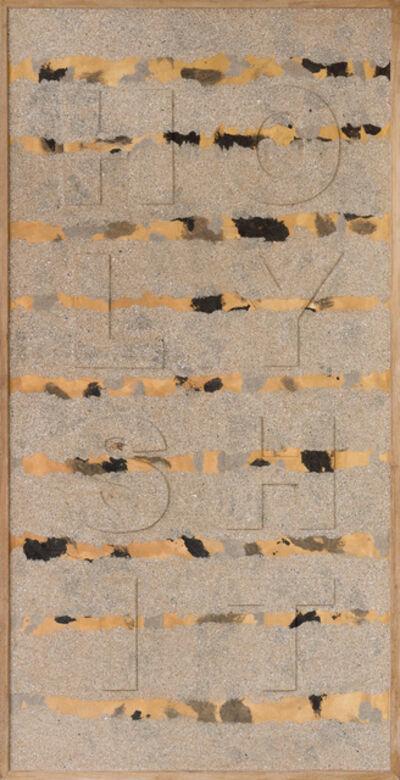 Willem Boshoff, 'Homage to Kurt Schwitters', 2013