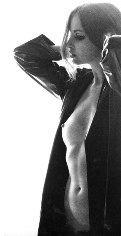 Sam Haskins, 'November Girl, Silhouette with Open Raincoat', 1966