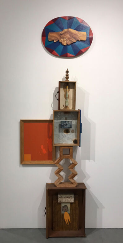 Alison Pebworth, 'Untitled 12, Office Wall Installation', 2018