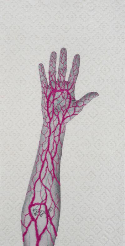 "Juana Gomez, '""Hand Pattern"", Santiago, Chile,', 2019"