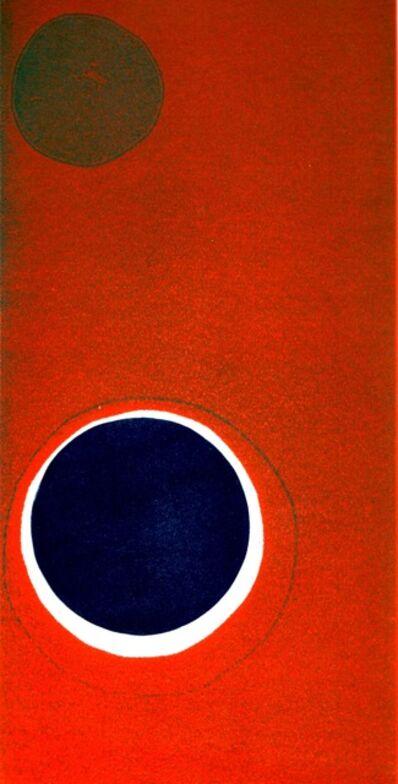 Mildred Palmer, 'Orange Blue Dot #2'