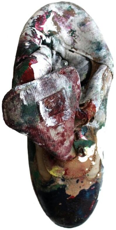 Dan Colen, 'Blowin' in the Wind (Boot)', 2011