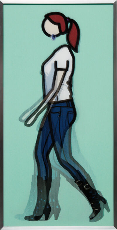 Julian Opie, 'Tina walking', 2010