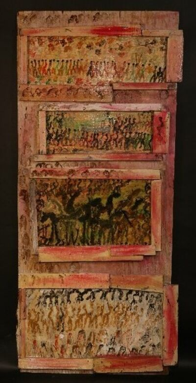 Purvis Young, 'Collage 1989', 1989