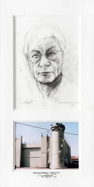 Ernest Pignon-Ernest, 'Mahmoud Darwich. Bethléem', 2009