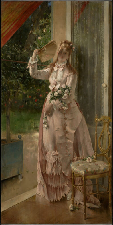 Alfred Stevens, 'Summer', 1877