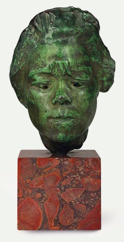 Auguste Rodin, 'Masque d'Hanako, étude type A, moyen modèle', 1920-1925