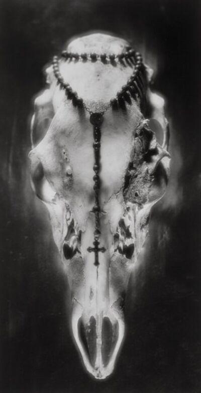 Ruth Bernhard, 'Skull and Rosary, Pennsylvania', 1945-printed later