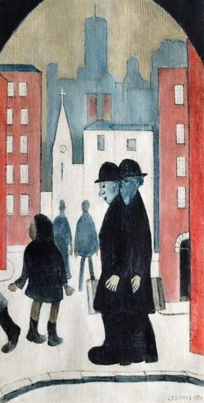 Laurence Stephen Lowry, 'Two Brothers'