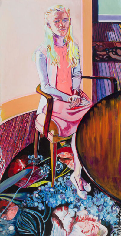 Elizabeth Chapin, 'Flowers on the Floor', 2016