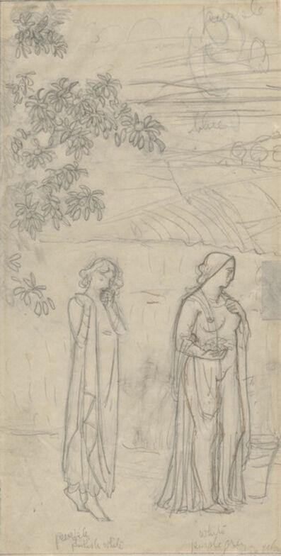 Bryson Burroughs, 'Demeter and Persephone', ca. 1917