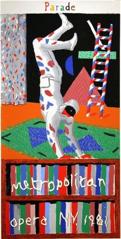 David Hockney, 'Parade, Metropolitan Opera, New York, 1981 David Hockney', 1981
