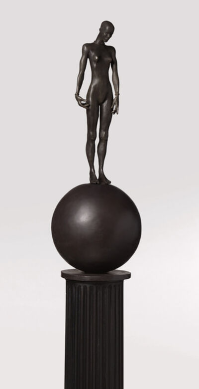 Cecilia Z. Miguez, 'Figure on a Ball', 2019