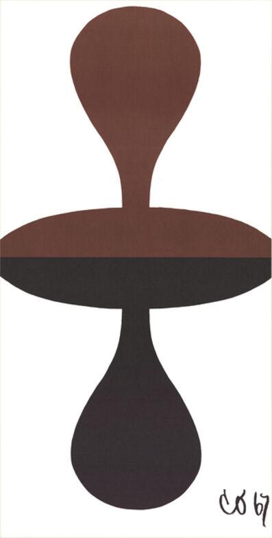 "Claes Oldenburg, 'Claes Oldenburg - Double Punching Bag - 1967 Lithograph 38.5"" x 20""', 1967"
