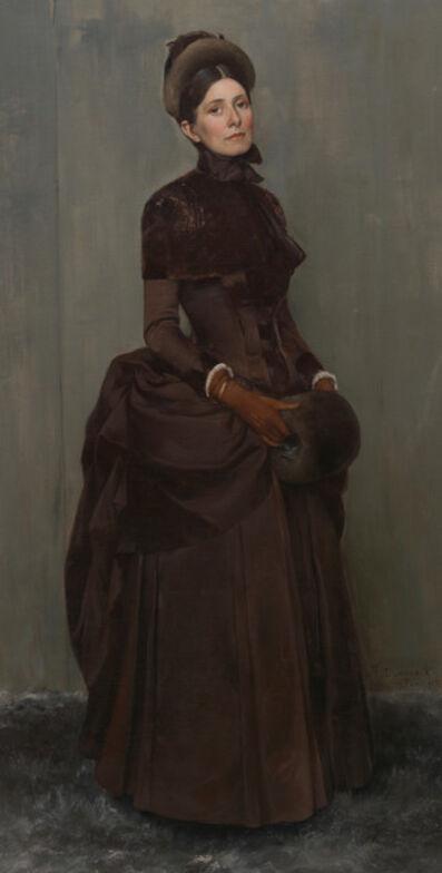 Frank Duvenack, 'Elizabeth Boott Duveneck', 1888
