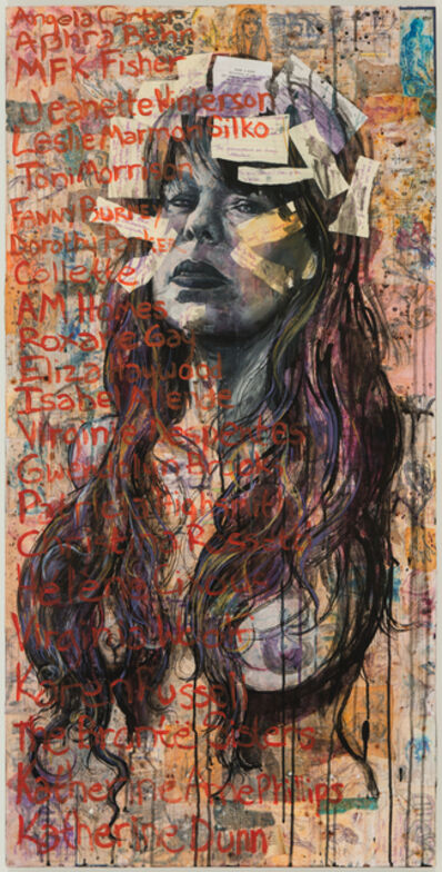 Molly Crabapple, 'Chelsea G. Summers', 2016