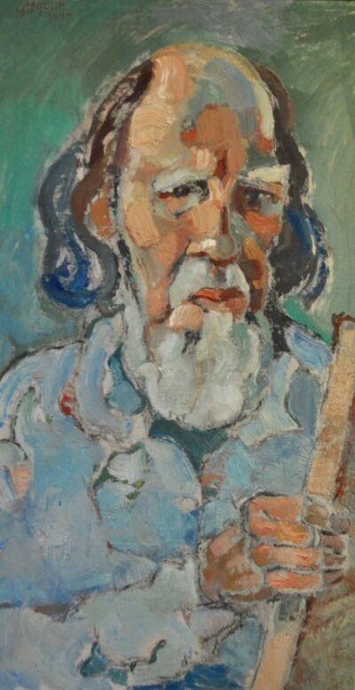 Gregoire Johannes Boonzaier, 'Self Portrait', 1977