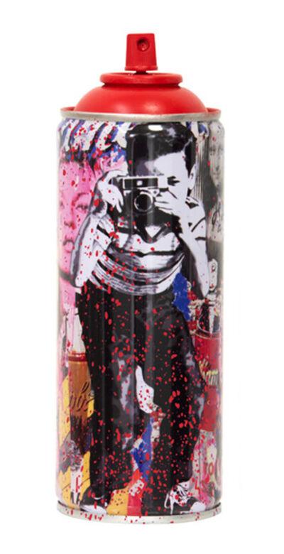 Mr. Brainwash, ''Smile (Full), 2020' (red) Spray Can', 2020