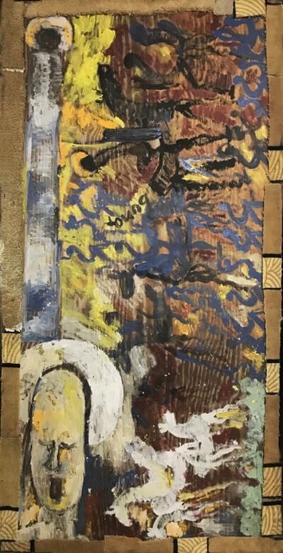 Purvis Young, 'Saint Michael's Battle'