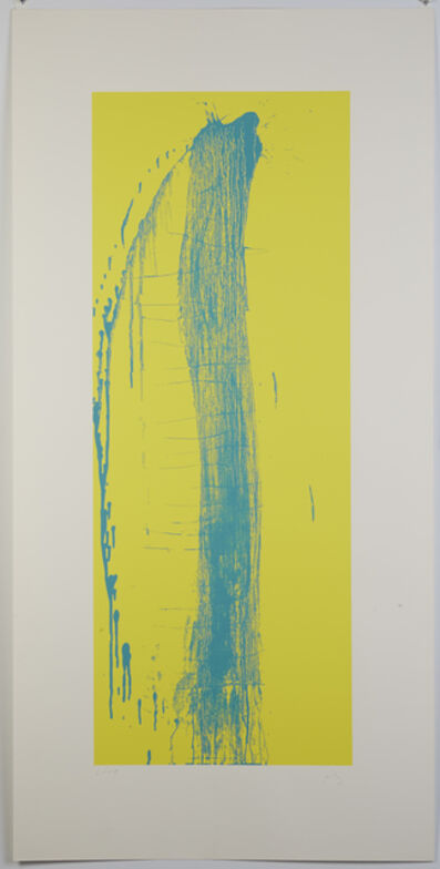 Pat Steir, 'Spanish Screenprint', 2004