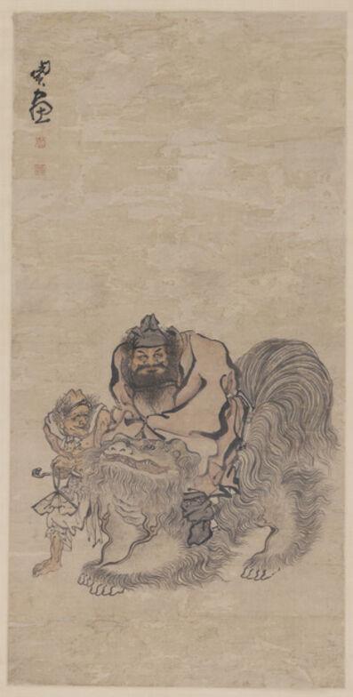 'Zhong Kui 鍾馗圖', 1730-1791