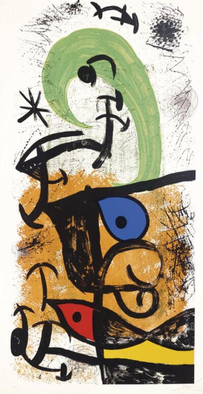 Joan Miró, 'La Meneuse de lune', 1975